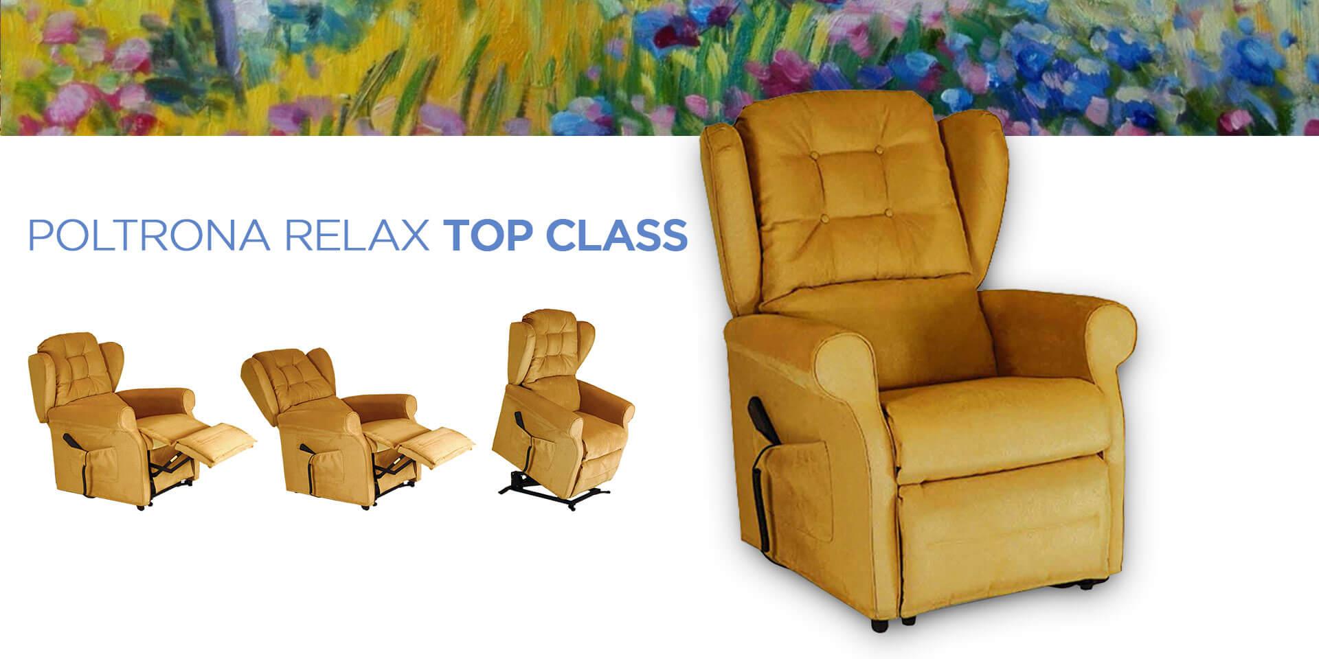 Poltrona reclinabile Top Class
