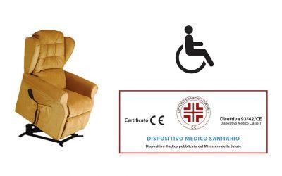 Agevolazioni poltrone per disabili