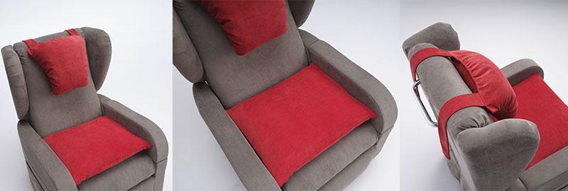 Poltrona letto Ergo con cuscini