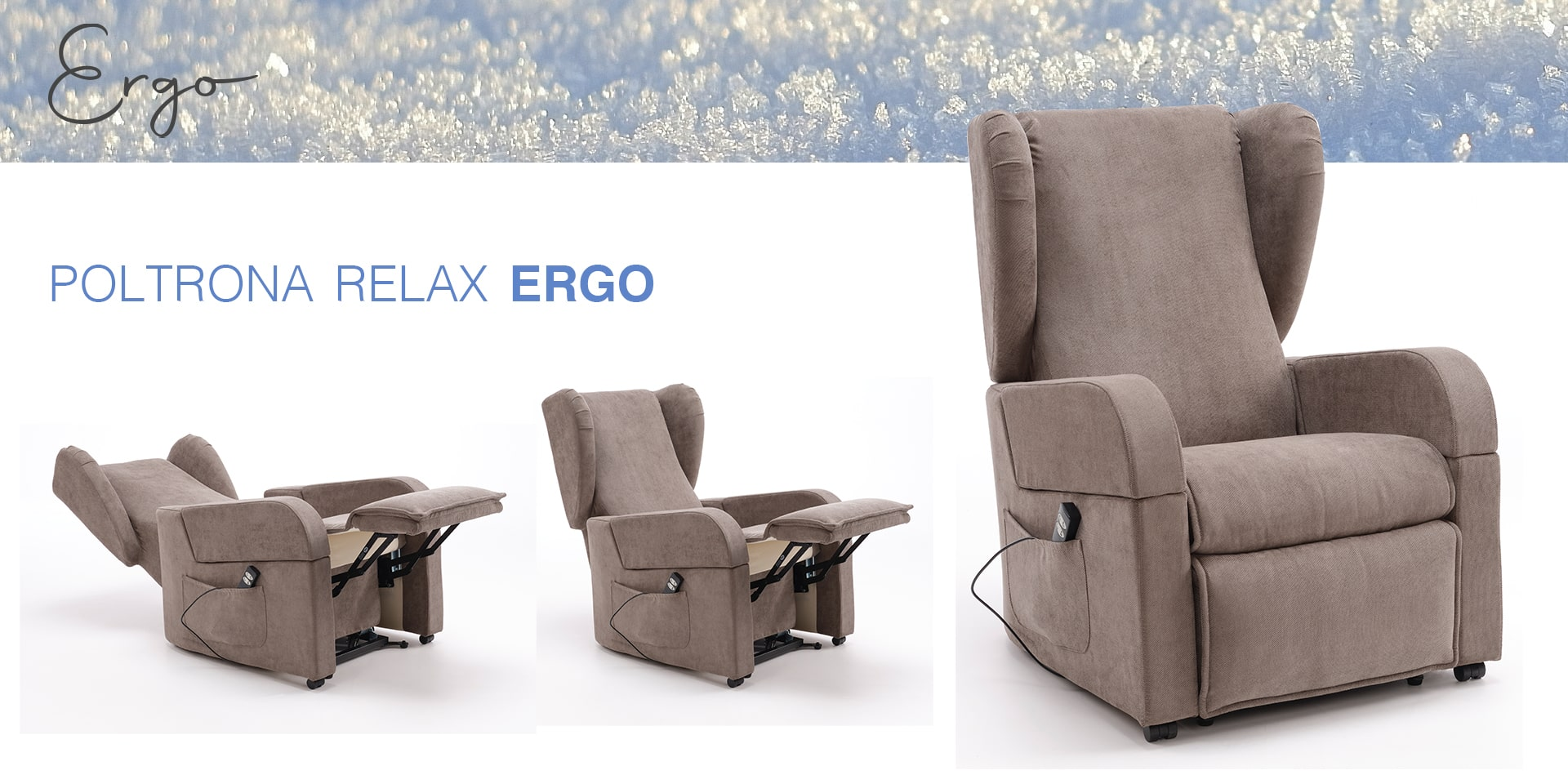 Poltrona relax Genesis Ergo